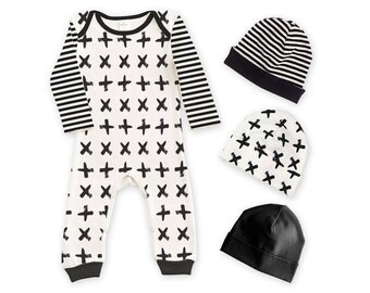 SALE! Newborn Take Home Outfit, Baby Romper Set, TesaBabe