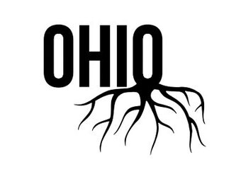 Rooted in Ohio - Homegrown - Di Cut Decal - Car/Truck/Home/Laptop/Computer/Yeti/Tumbler/Macbook/Phone Decal