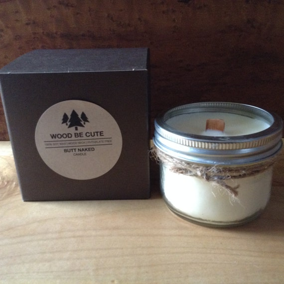 Butt Naked Soy Candle Wax