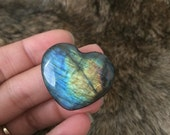 Labradorite Gemstone Heart