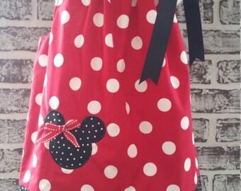 Minnie Mouse Pillow Case Dress Size 2T