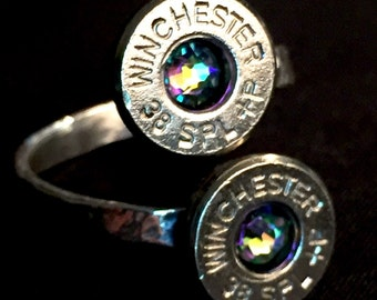 Winchester Double Bullet Casing Ring