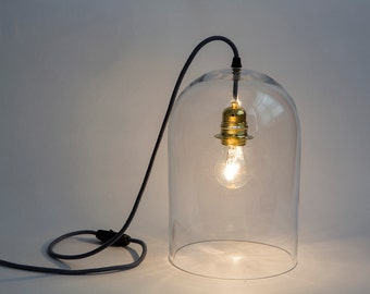 Maggie, lamp to ask customizable, glass Bell