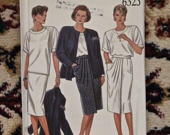 Vintage 1980s New Look Misses separates pattern 6325 new uncut