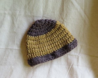 Baby Crocheted Acorn Hat