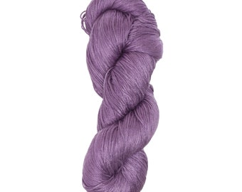 "Milk Yarn - Fingering/lace weight in ""Purple"""