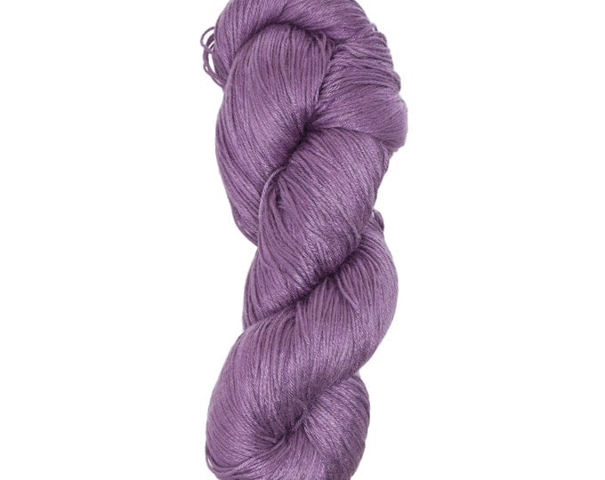 """Milk Yarn - Fingering/lace weight in """"Purple"""""""