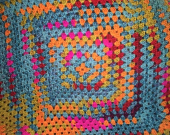 Bright and cheerful blanket