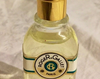 """Miniature perfume """"Vetyver Roger Gallet"""", eau de cologne woman, 15 ml 0.5 Fl.Oz bottle"""