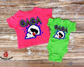 Baby Girls Lady Gaga Shirt, Punk Baby Shirt, Rocker Baby Shower Gift, Born This Way, Funny Baby Shower Gift, Lady Gaga Fan, Applecopter