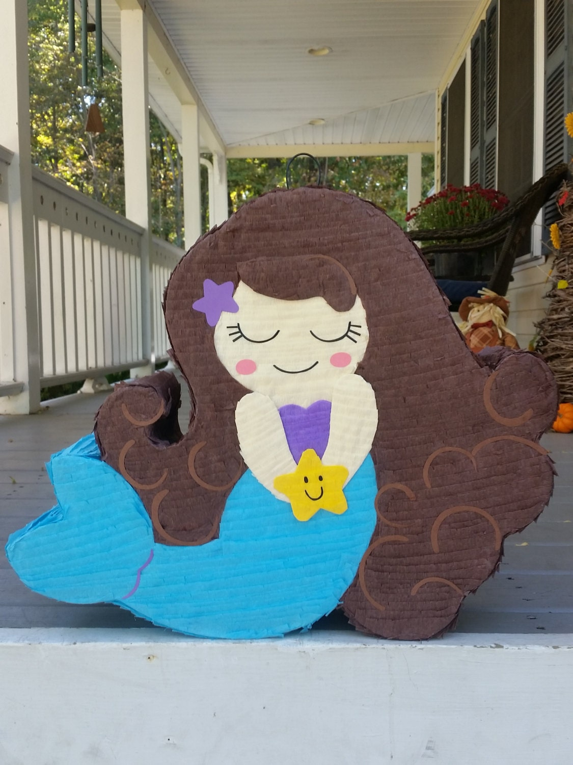 Mermaid Pinata Mermaid Birthday Mermaid Party By Laaranita