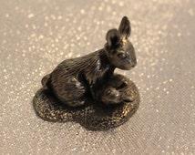 Miniature Metal Bunnies GELRIA 95% Tin
