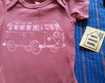 VW Bus Onesie 12 month