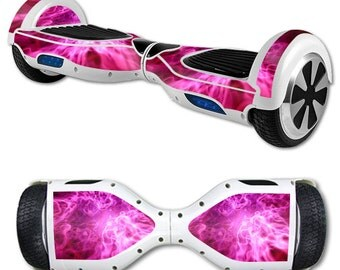 Skin Decal Wrap for Self Balancing Scooter Hoverboard unicycle Red Mystic Flame