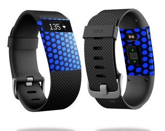 Skin Decal Wrap for Fitbit Blaze, Charge, Charge HR, Surge Watch cover sticker Hexagon Dream
