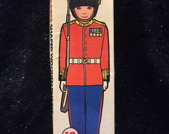 Michael Stanfield 12pc British guard wood puzzle