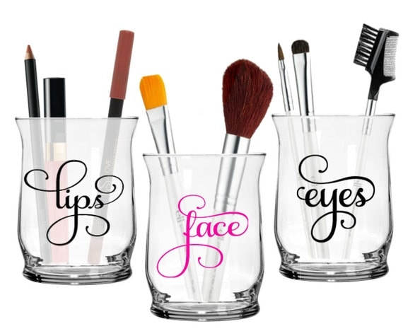 Makeup Brush Holders Face Eyes Lips Make Up Contemporary