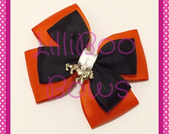 Handmade Scar Lion King Inspired Hair Bow