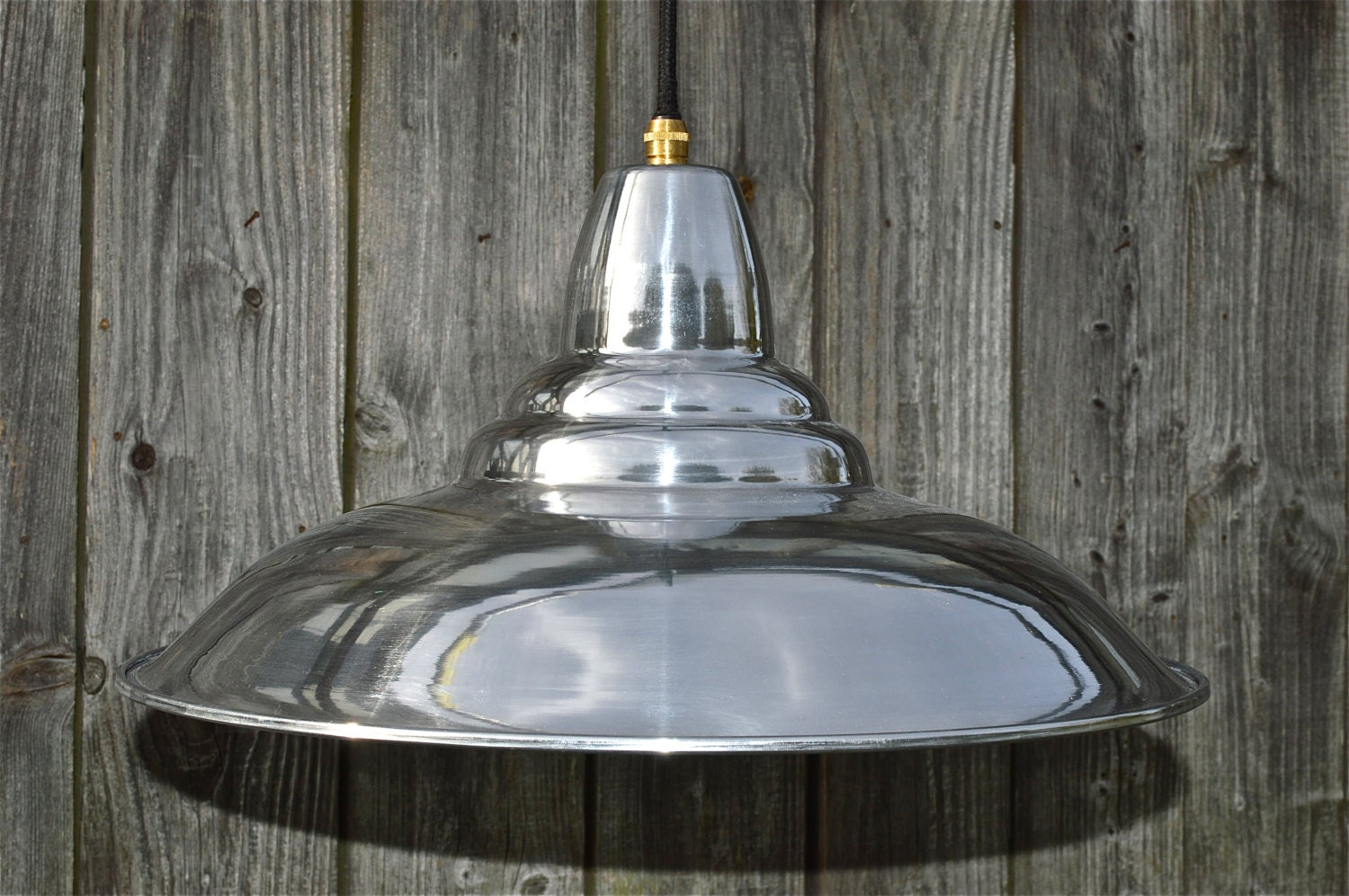 Cool retro styled polished ceiling light shade pendant lamp - Cool lamp shade ...