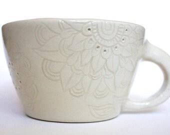 Handmade Mandala Teacup