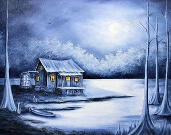 Blue Bayou Art Print - FREE Shipping