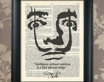 Salvador Dali Sketch, Salvador Dali Quote, Salvador Dali print, Salvador Dali Poster, Salvador Dali art, Dali wall art, Dali print, Dali Art
