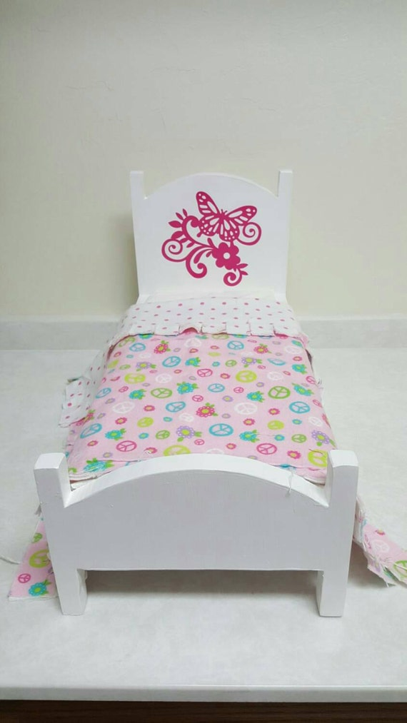 Doll Bed Doll Furniture For American Girl Size Doll 18 inch