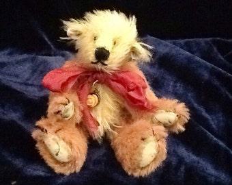 Bearity brown handmade ooak artist bear