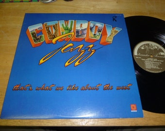 Cowboy Jazz LP Rounder Records 1981 country SWING