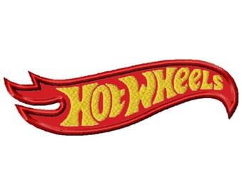 Hot Wheels...Applique Machine Embroidery DESIGN NO. 665