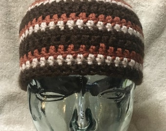 Retro crochet hat