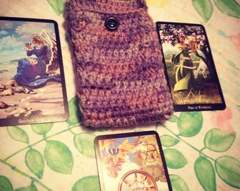 Crochet tarot bag Etsy