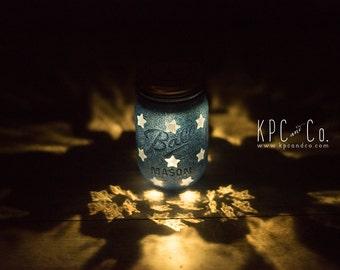 Little Star Mason Jar LED Night Light