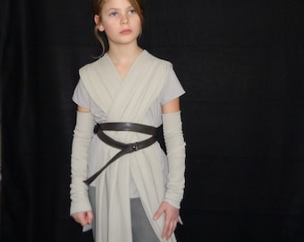 Rey Costume from Star Wars for Girls with Cuff
