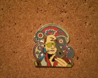 DOGGTATTDESIGNS Designs Hunter S. Thompson Pin