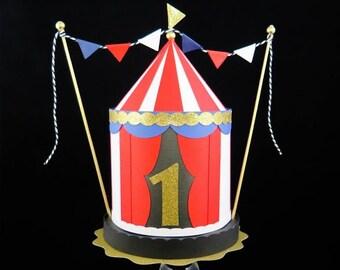Circus Carnival Cake topper