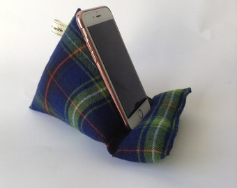 Mobile Phone Stand/ Phone Holder, Smartphone Cushion, Gift for Him, Gift for Her