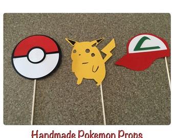Pokemon Centerpieces, Pokemon props handmade pokemon props, pokemon party