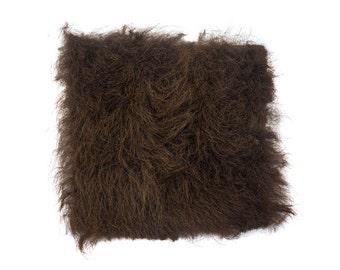 "Buffalo Hide Robe Project Piece 4""x4"""