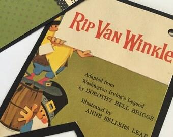 Golden Book Nursery Baby Shower  Banner Party Decor Rip Van Winkle
