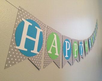 Happy Birthday Banner : Boy