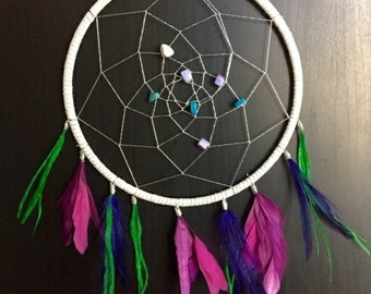 Mermaid Inspired Dreamcatcher