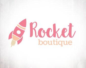 Rocket Logo Design - Premade OOAK