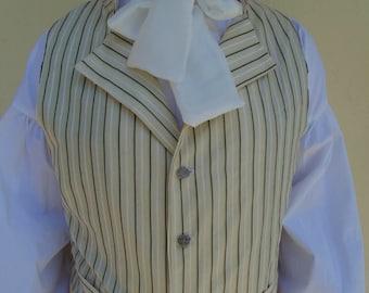 Regency Man Waistcoat ~ Mr Darcy inspired