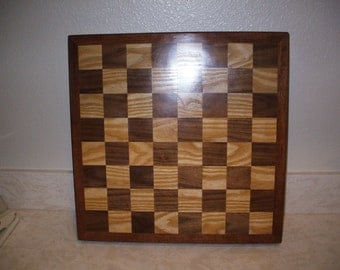 Homemade Wooden chess board