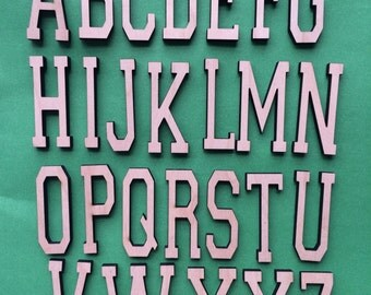 Awesome Custom Personalized Fun Laser Cut Wooden Letters