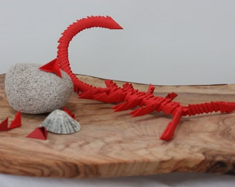 3D ORIGAMI LOBSTER