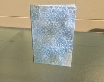 Vintage Blue Love Handmade Journal