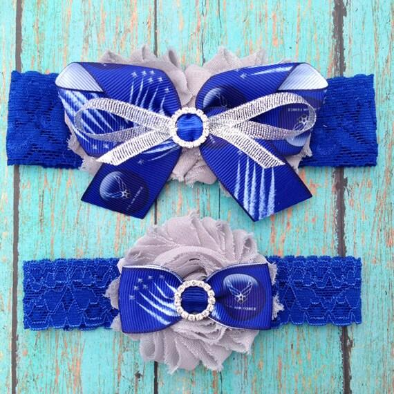 Air Force Wedding Garter