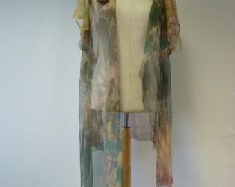 Avant garde transparent jacket/peniuar, L size.